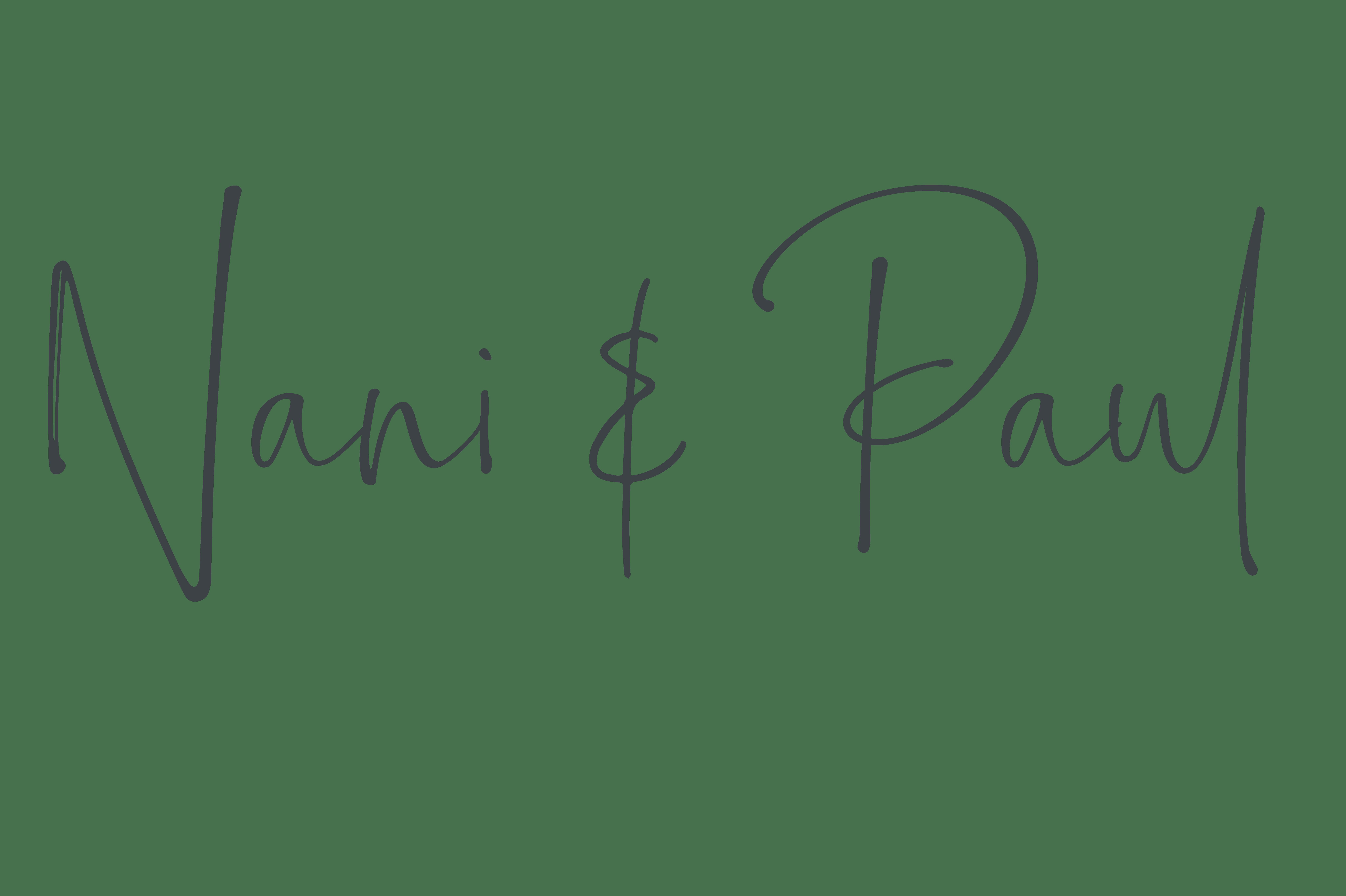 Nani und Paul